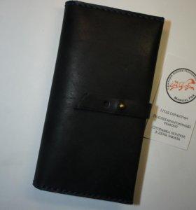 Кошелек бумажник из натуральной кожи.