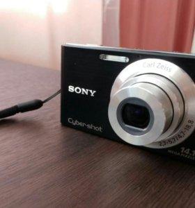 Sony Cyber-Shot DSC-W320 черн цифровой фотоаппарат