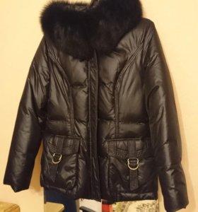 Куртка зимняя р 44