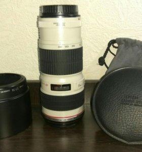 Объектив Canon 70-200 f4L USM