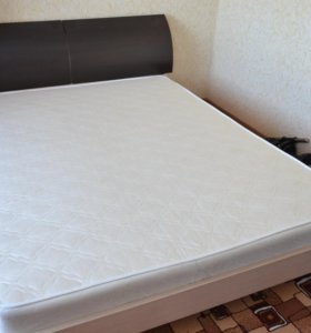 2-спальная кровать с матрасом (г. Пенза)