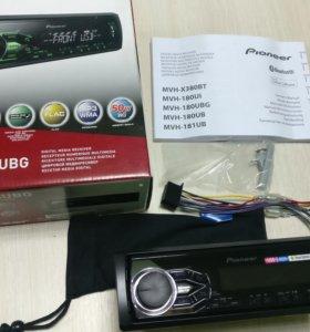 Pioneer MVH-180UBG, USB, AUX, Android