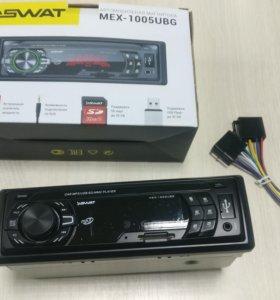 Автомагнитола SWAT MEX-1005UBG под USB