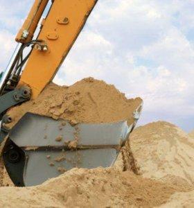 Песок. Щебень