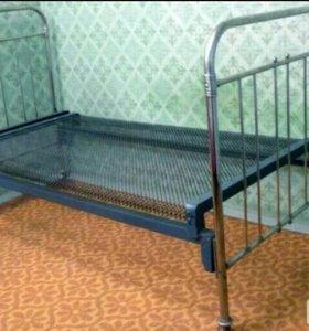 Кровать панцирная
