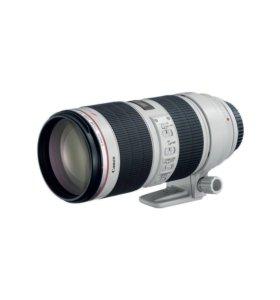 Объектив Canon EF 70-200 mm f2.8L is II USM