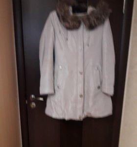 Куртка зимняя на кролике
