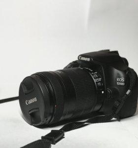 Фотоаппарат canon 1200d с объективом 18-135 +сумка