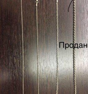 Серебряные браслеты 3 видов