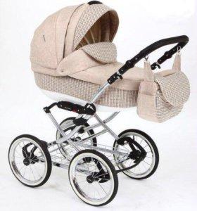 Детская коляска (2 в 1) , адамекс Катрина