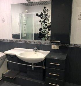 Мебель в ванную, раковина, зеркало