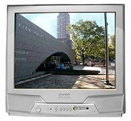 Телевизор SHARP и DVD SAMSUNG