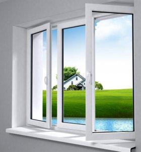 Окна. Пластиковые и алюминиевые конструкции.