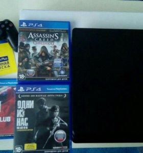 PS4 Новая в упаковке, на гарантии