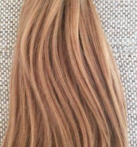 Натуральные волосы для наращивания.
