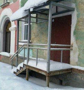 Квартира, свободная планировка, 78 м²