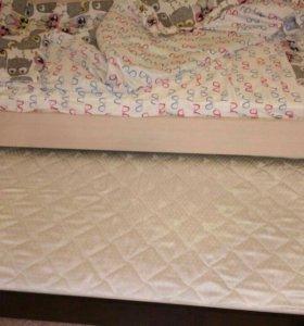 Двухуровневая кровать выдвижная