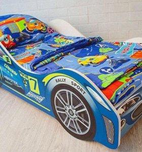 Кроватка машина детская