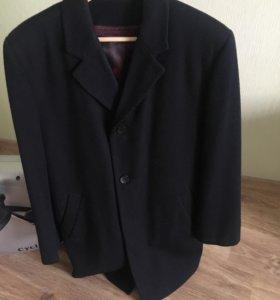 Драповое мужское пальто royal spirit