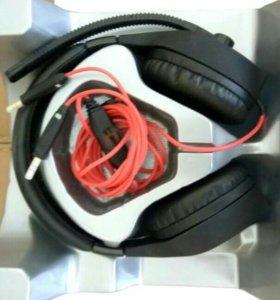 Наушники c микрофоном Molecula GHM-421