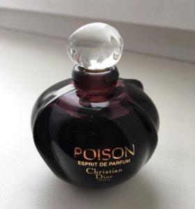 Духи винтаж Christian Dior poison esprit de Parfum