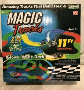 "Игра ""Magic Tracks"" 220 деталей."