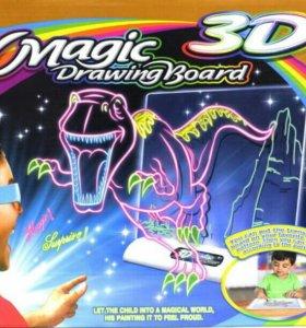 МАГИЧЕСКАЯ 3D ДОСКА (под заказ )