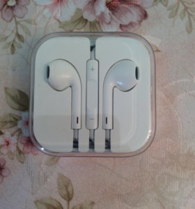 Наушники Apple (EarPods), оригинал.