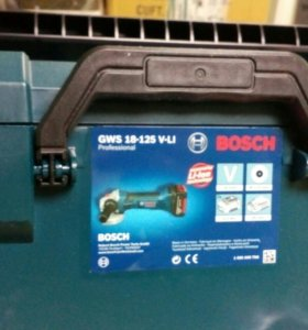 Аккумуляторные УШМ Bosch (новые)