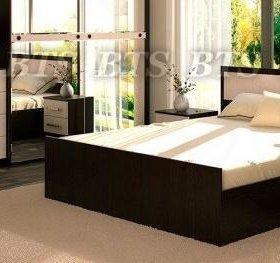 """Спальня """"Фиеста 1"""" шкафом купе, кровать, тумбы"""