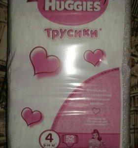 Трусики Huggies для девочек 3,4, 5