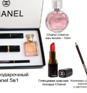 Подарочный набор Chanel 5in1