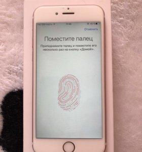 Продам iPhone 6s rose gold 16gb