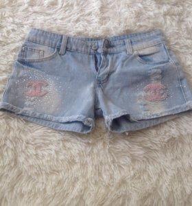 Шорты джинсовые 44-46 размер новые