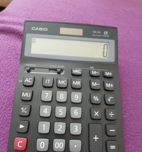 Калькулятор CASIO GX 12S НОВЫЙ