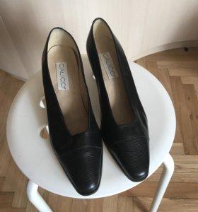 Туфли кожаные, 39 размер