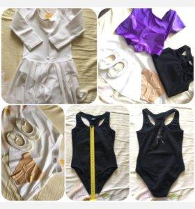 Одежда для гимнастики и танцев (пакетом)