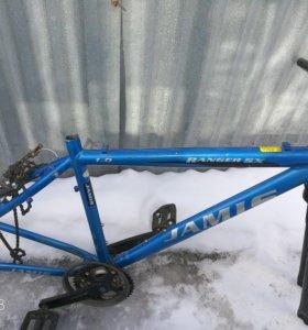 Рама горного велосипеда