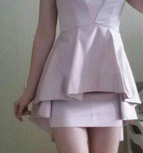 Костюм юбка+топ.