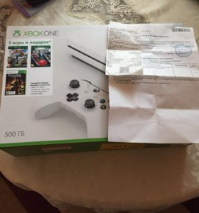 Xbox one s новый