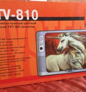 Переносной телевизор новый