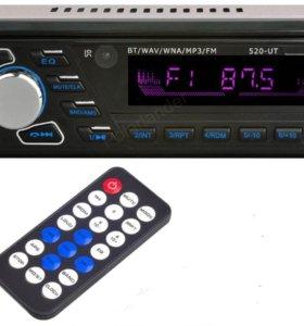 1 DIN Polar Lender MP3 USB AUX Bluetooth