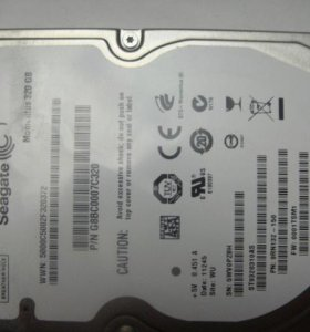 Жесткий диск для ноутбука Seagate 250Gb