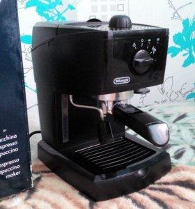 Кофеварка рожковая delonghi ec 145