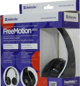 Наушники Bluetooth Defender FreeMotion B550