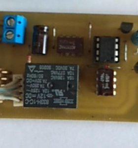 Конечный выключатель редуктора отопителя заслонки.