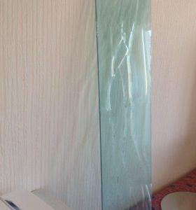 Стекло декоративное 2 шт (1,30*0,38)толщина 6 мм