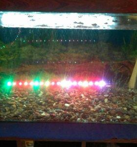 Многоцветная подсветка для аквариума