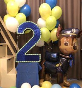 Цифра 2 на день рождения