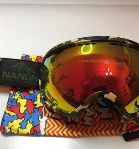 Сноуборд горнолыжная маска